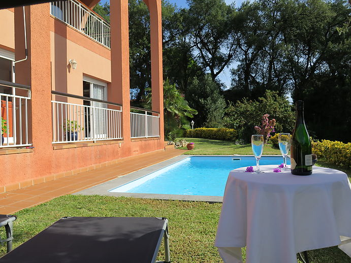 Familienhaus mit Pool in Calonge