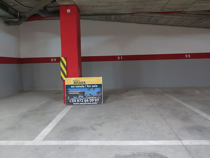 Parking spaces for sale