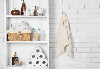 3 simple tricks to organize your bathroom